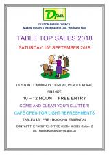 DPC Table Top Sale