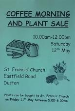 Coffee Morning & Plant Sale - St Francis Church