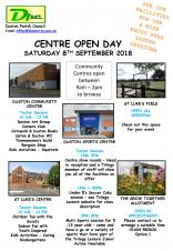 Duston Parish Council - Centres Open Day