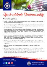 Festive Fire Safety & Crime Prevention