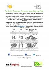 The Grow Together Allotment Volunteer Days