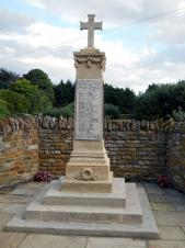 A picture of the war memorial