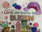 Image: I Love My Home In Duston by Edith, Aged 4